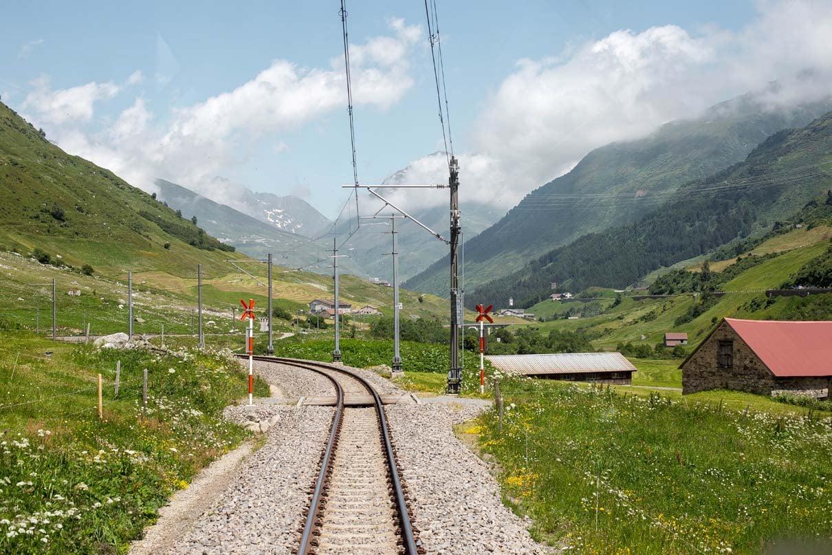 Jubiläumsreise Glacier Express Chur Zermatt (6)