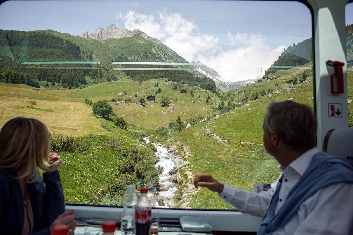 Jubiläumsreise-Glacier-Express