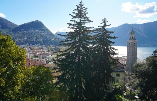 Lugano-mit-Kirche