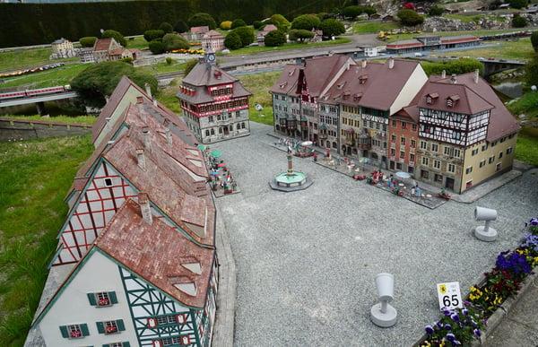 Swiss-miniature-Melide-Dorf