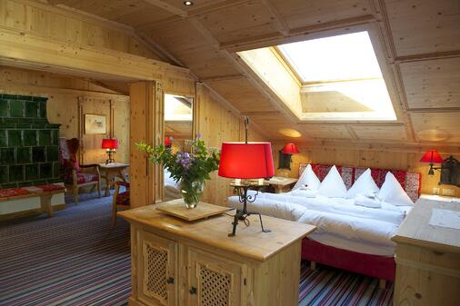 Zimmer im Romantikhotel Julen
