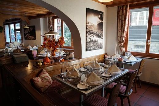 Restaurant im Romantikhotel Julen